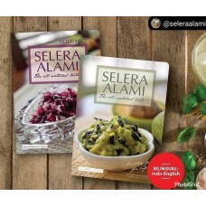 THE ALL NATURAL TASTE (SELERA ALAMI) BOOKS VOL 1 & 2