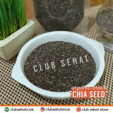 "CHIA SEEDS ""BLACK"" ORGANIC, 1 KG (NETT PRICE)"
