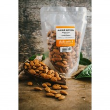 ALMOND WHOLE NATURAL 1Kg